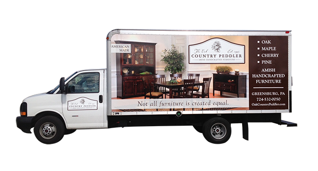 Country Peddler - Vehicle Graphics and Wraps