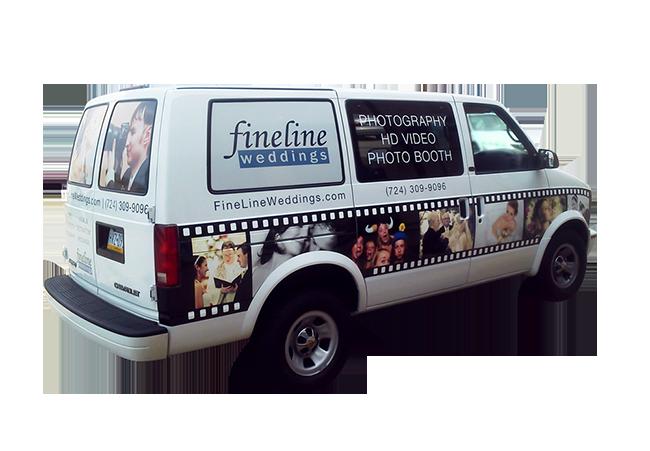 Fineline Weddings - Vehicle Graphics and Wraps