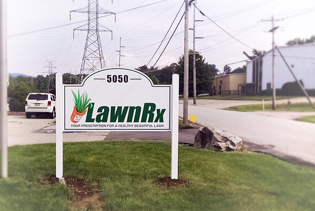 LawnRx - Post and Panel Signs