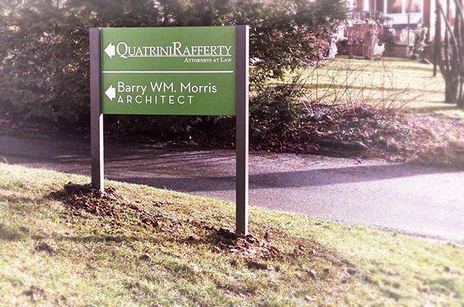 Quatrini Rafferty - Post and Panel Signs