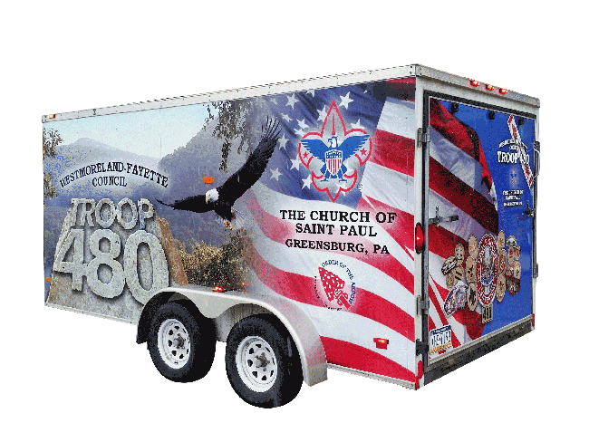 Boyscouts - Vehicle Graphics and Wraps
