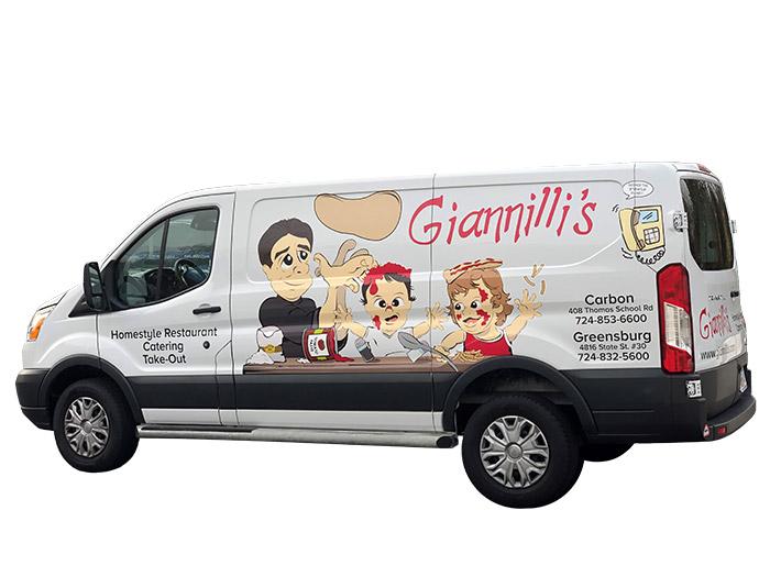 Gianelli's Catering Van 2019