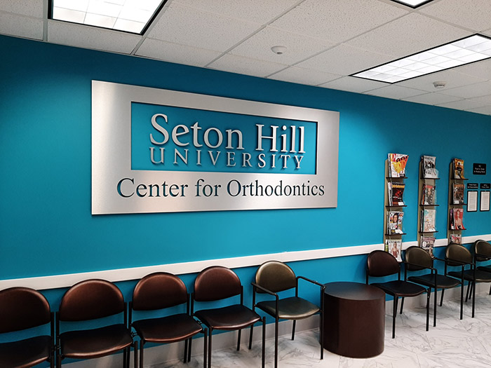 Seton Hill University Ortho Signage