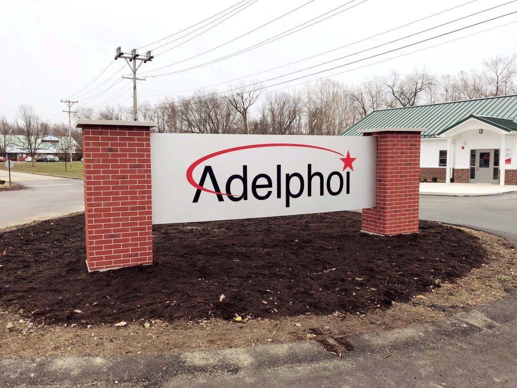 Adelphoi Monument