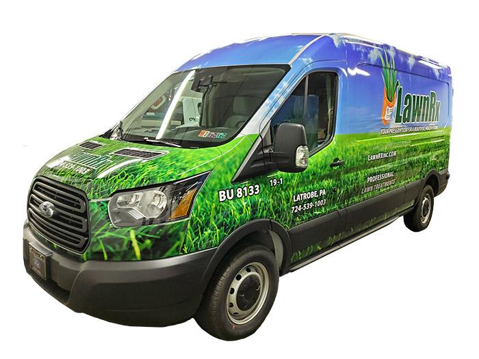 Lawn RX Van